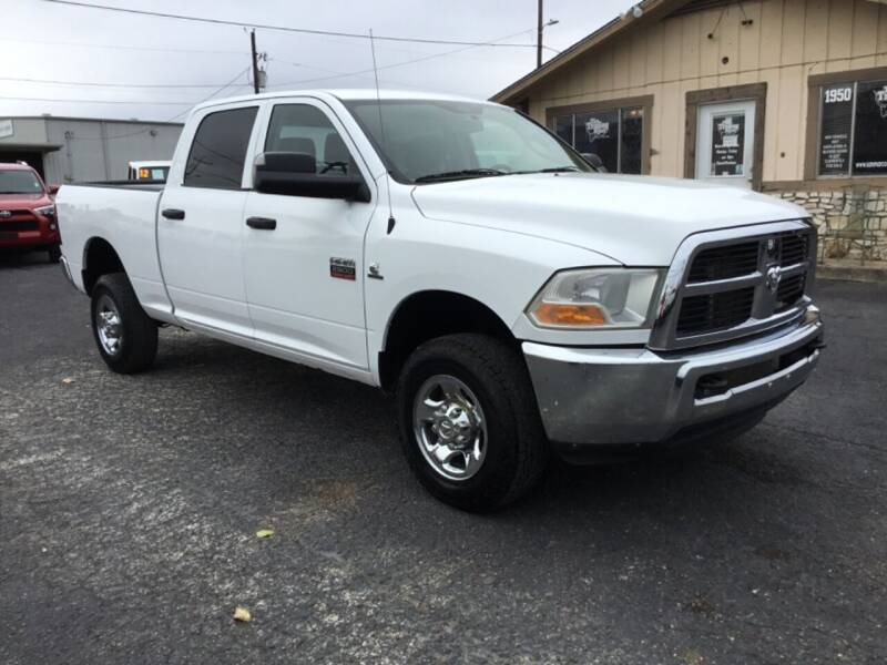2012 RAM Ram Pickup 2500 for sale at The Trading Post in San Marcos TX