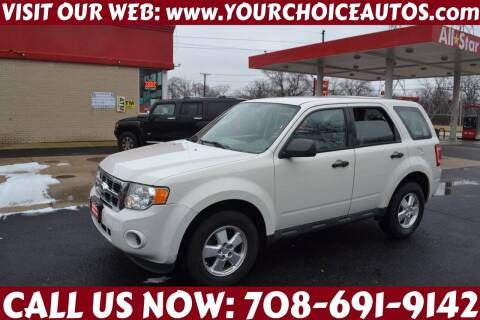 2012 Ford Escape for sale at Your Choice Autos - Crestwood in Crestwood IL