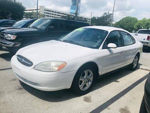 2001 Ford Taurus for sale at DAN'S DEALS ON WHEELS AUTO SALES, INC. in Davie FL