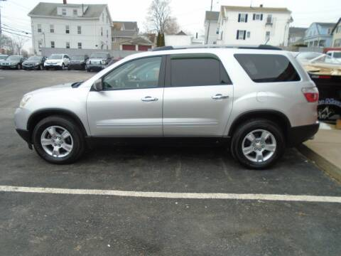 2012 GMC Acadia for sale at Gemini Auto Sales in Providence RI