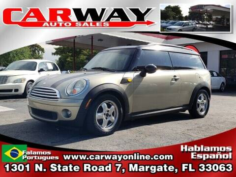 2009 MINI Cooper Clubman for sale at CARWAY Auto Sales in Margate FL