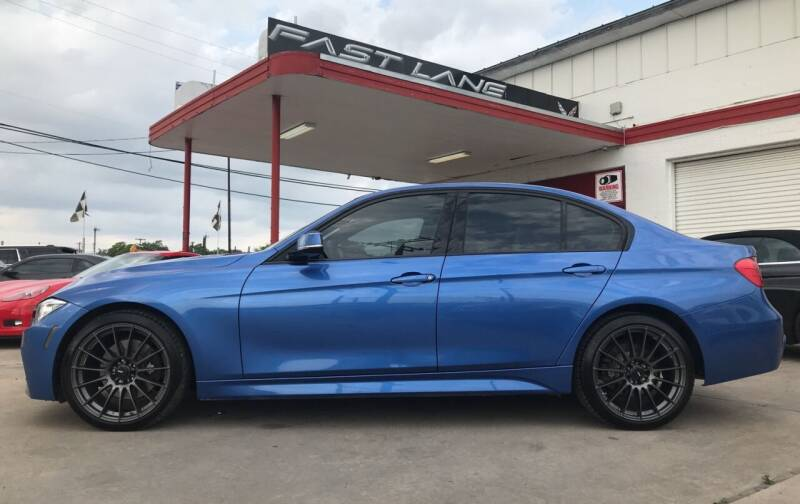 2014 BMW 3 Series for sale at FAST LANE AUTO SALES in San Antonio TX