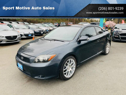 2008 Scion tC for sale at Sport Motive Auto Sales in Seattle WA