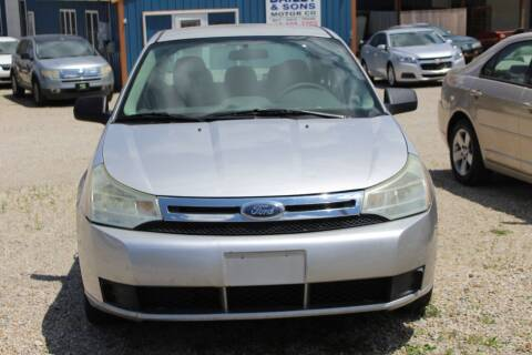2009 Ford Focus for sale at Bailey & Sons Motor Co in Lyndon KS