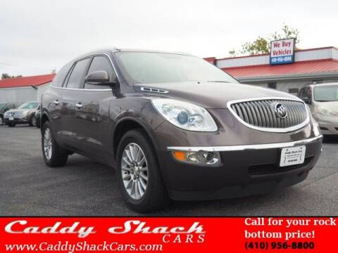 2012 Buick Enclave for sale at CADDY SHACK CARS in Edgewater MD