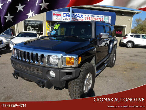 2008 HUMMER H3 for sale at Cromax Automotive in Ann Arbor MI