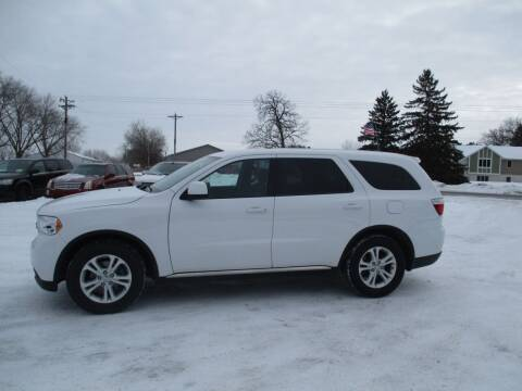 2013 Dodge Durango for sale at D & T AUTO INC in Columbus MN
