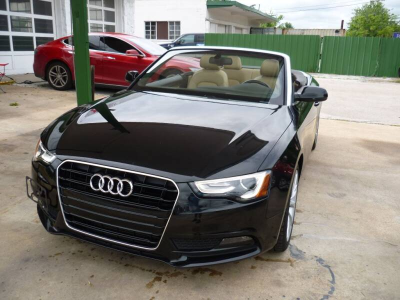 2013 Audi A5 for sale at Auto Outlet Inc. in Houston TX