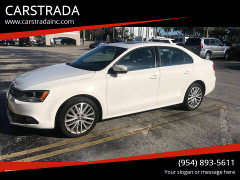 2013 Volkswagen Jetta for sale at CARSTRADA in Hollywood FL