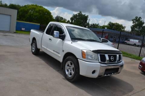 2004 Nissan Titan for sale at Preferable Auto LLC in Houston TX
