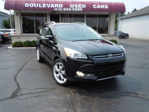2016 Ford Escape for sale at Boulevard Used Cars in Grand Haven MI