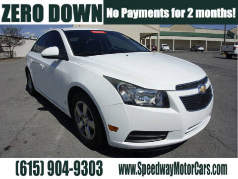2013 Chevrolet Cruze for sale at Speedway Motors in Murfreesboro TN