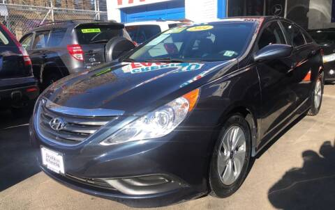 2014 Hyundai Sonata for sale at DEALS ON WHEELS in Newark NJ