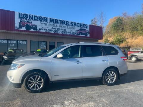 2014 Nissan Pathfinder Hybrid for sale at London Motor Sports, LLC in London KY