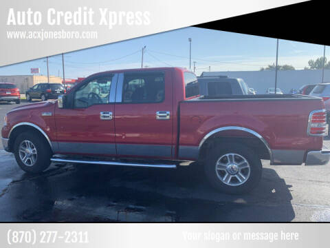 2007 Ford F-150 for sale at Auto Credit Xpress - Jonesboro in Jonesboro AR