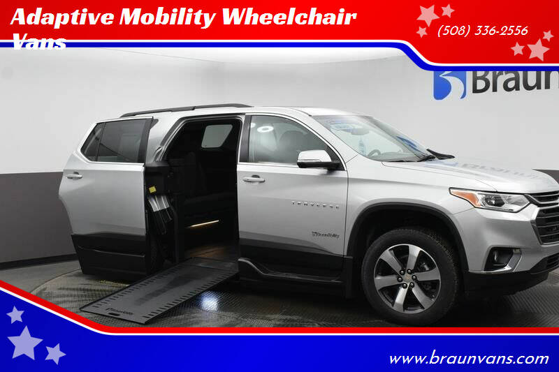 2021 Chevrolet Traverse for sale at Adaptive Mobility Wheelchair Vans in Seekonk MA