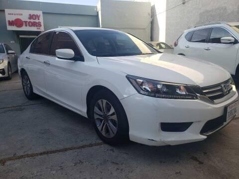 2015 Honda Accord for sale at Joy Motors in Los Angeles CA