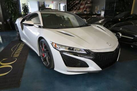 2019 Acura NSX for sale at OC Autosource in Costa Mesa CA