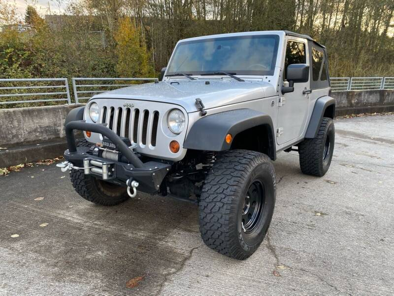 2010 Jeep Wrangler for sale at Zipstar Auto Sales in Lynnwood WA