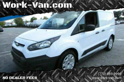 2014 Ford Transit Connect Cargo for sale at Work-Van.com in Union City GA