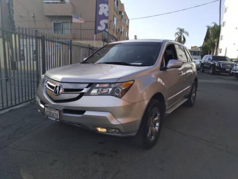 2008 Acura MDX for sale at Western Motors Inc in Los Angeles CA