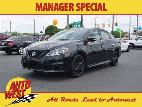 2018 Nissan Sentra for sale at Autowest of GR in Grand Rapids MI
