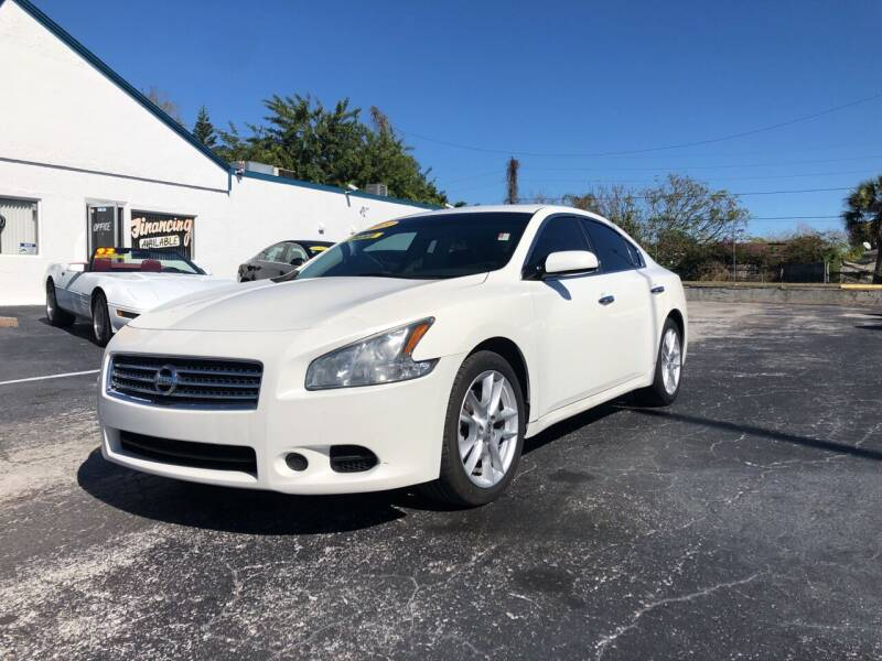 2009 Nissan Maxima for sale at Sunray Auto Sales Inc. in Holiday FL