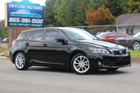 2013 Lexus CT 200h for sale at Skyline Motors in Louisville TN