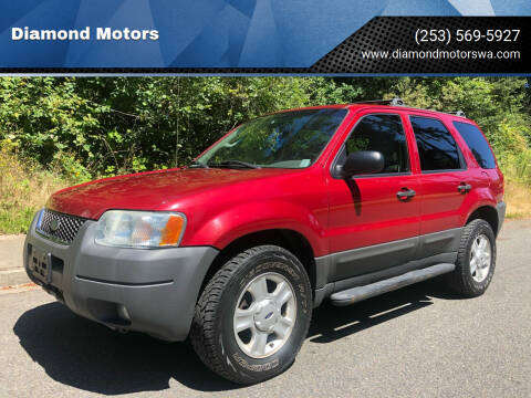 2003 Ford Escape for sale at Diamond Motors in Lakewood WA