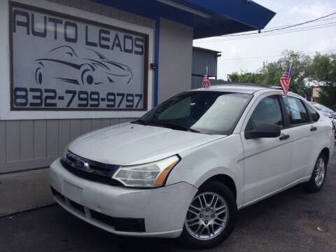 2010 Ford Focus for sale at AUTO LEADS in Pasadena TX