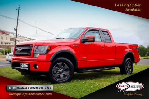2013 Ford F-150 for sale at Quality Auto Center in Springfield NJ