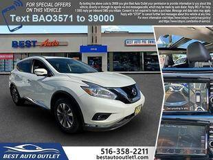 2017 Nissan Murano for sale at Best Auto Outlet in Floral Park NY