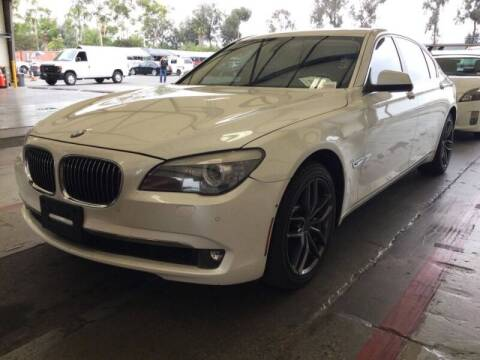 2010 BMW 7 Series for sale at SoCal Auto Auction in Ontario CA