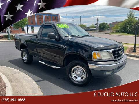 2001 Ford F-150 for sale at 6 Euclid Auto LLC in Bristol VA