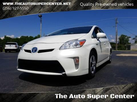 2013 Toyota Prius for sale at The Auto Super Center in Centre AL