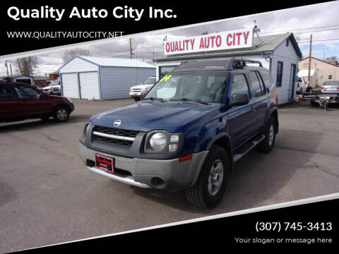 2004 Nissan Xterra for sale at Quality Auto City Inc. in Laramie WY