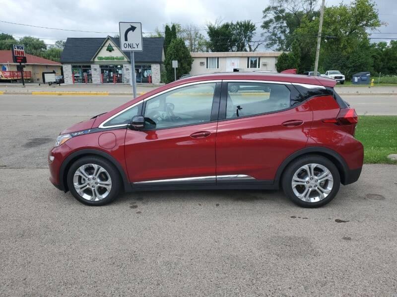 2021 Chevrolet Bolt EV for sale at GLOBAL AUTOMOTIVE in Grayslake IL