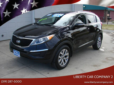 2015 Kia Sportage for sale at Liberty Car Company - II in Waterloo IA