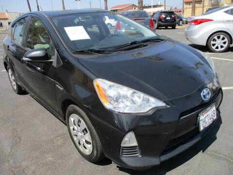 2014 Toyota Prius c for sale at F & A Car Sales Inc in Ontario CA