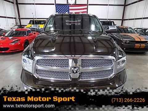 2014 RAM Ram Pickup 1500 for sale at Texas Motor Sport in Houston TX