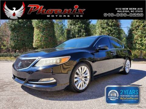 2014 Acura RLX for sale at Phoenix Motors Inc in Raleigh NC