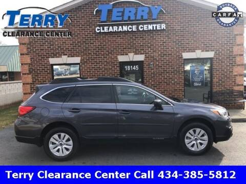 2016 Subaru Outback for sale at Terry Clearance Center in Lynchburg VA