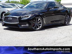 2018 Infiniti Q60 for sale at Used Imports Auto - Southern Auto Imports in Stone Mountain GA