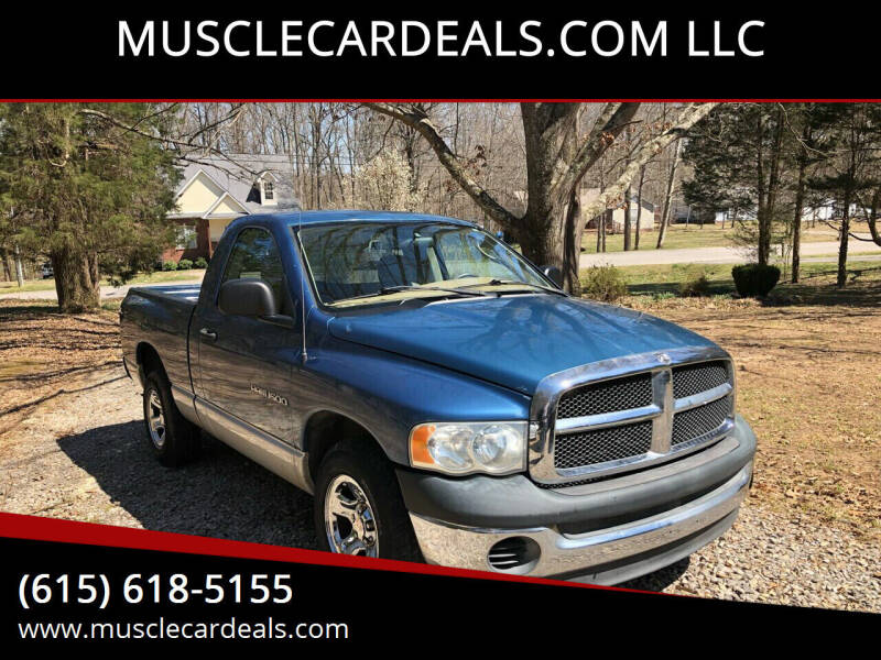 2003 Dodge Ram Pickup 1500 for sale at MUSCLECARDEALS.COM LLC - 4 in White Bluff TN
