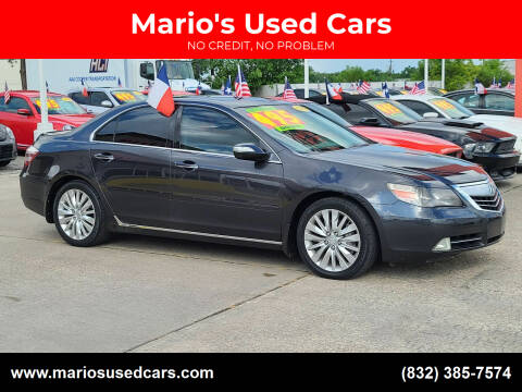 2011 Acura RL for sale at Mario's Used Cars in Houston TX
