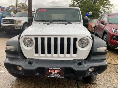 2018 Jeep Wrangler Unlimited for sale at Best Cars R Us in Plainfield NJ