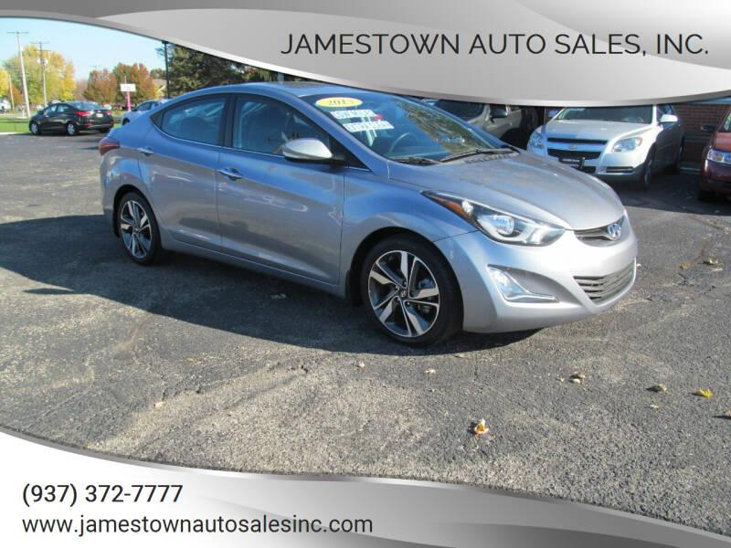 2015 Hyundai Elantra for sale at Jamestown Auto Sales, Inc. in Xenia OH