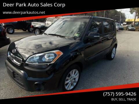 2012 Kia Soul for sale at Deer Park Auto Sales Corp in Newport News VA