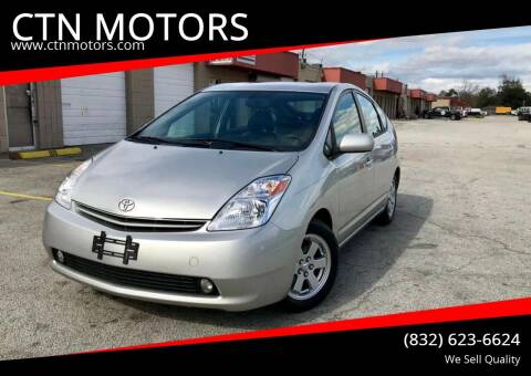 2005 Toyota Prius for sale at CTN MOTORS in Houston TX