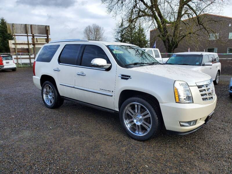 2008 Cadillac Escalade for sale at McMinnville Auto Sales LLC in Mcminnville OR